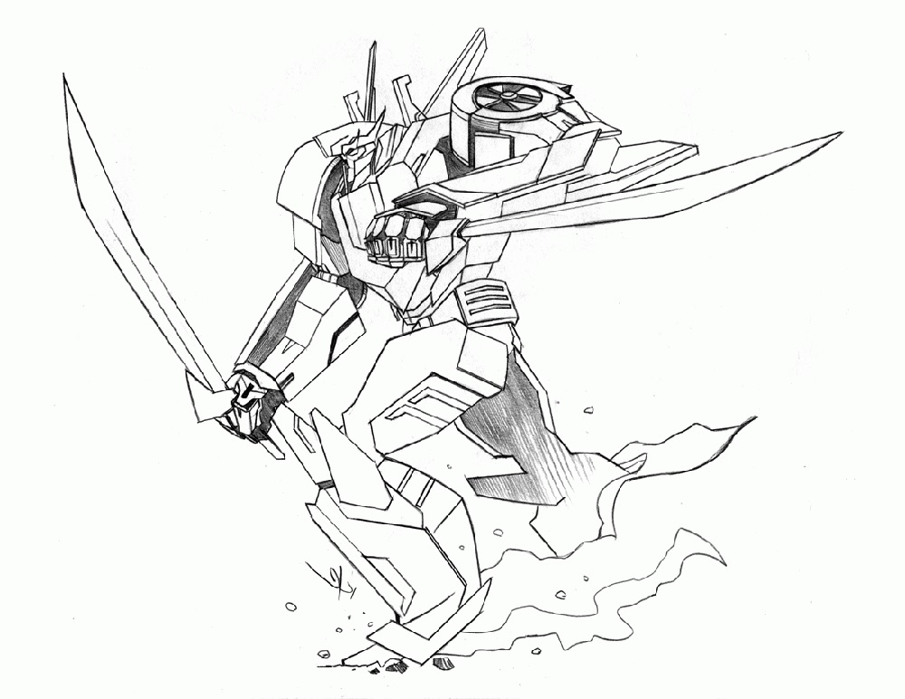 Robot Coloring Pages Transformers