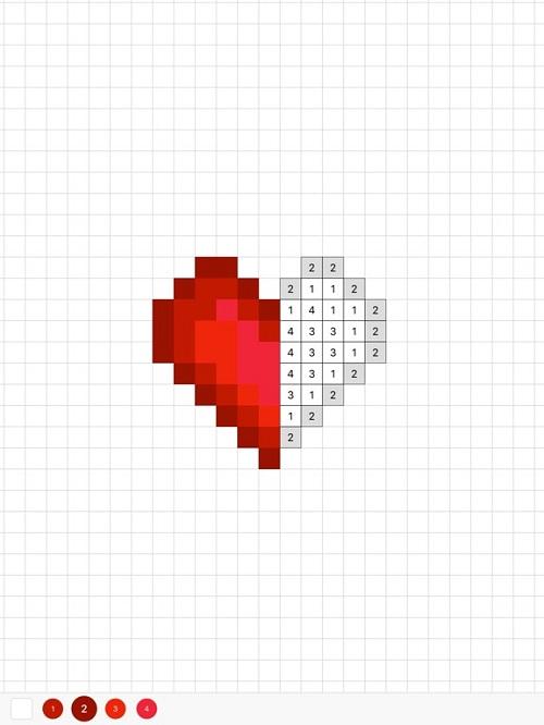 Sandbox Coloring Heart
