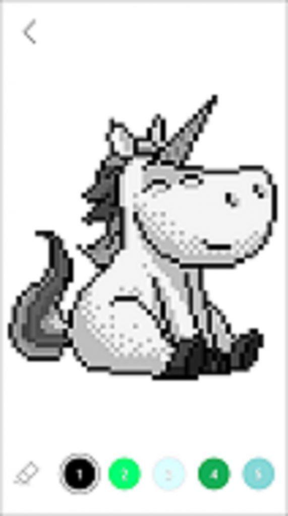 Sandbox Coloring Horse