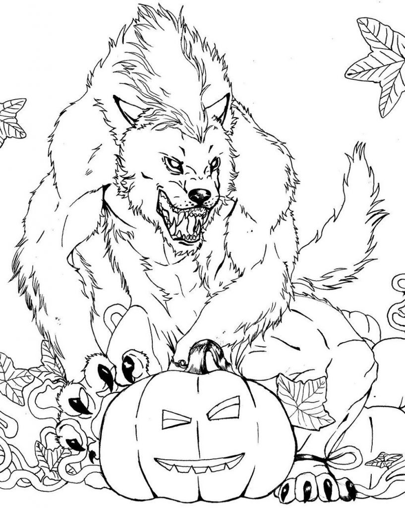 Cute and Scary Monster Coloring Pages | 101 Coloring