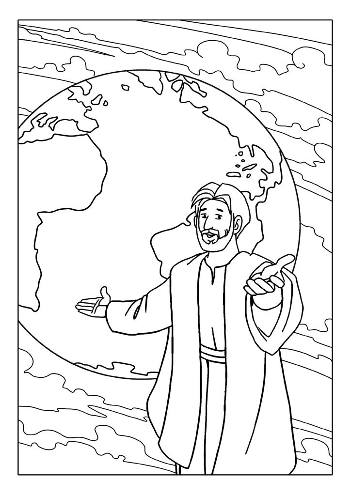 Sunday School Coloring Pages Bible