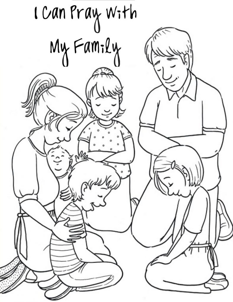 Sunday School Coloring Pages Family