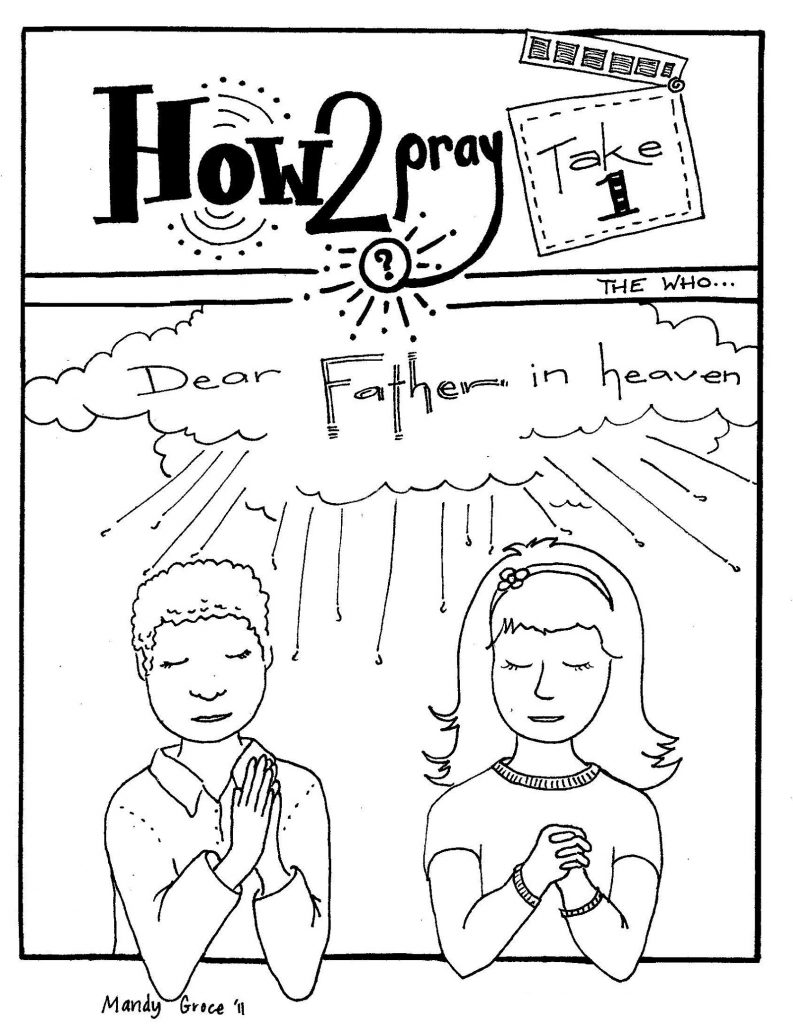 Sunday School Coloring Pages For Kids