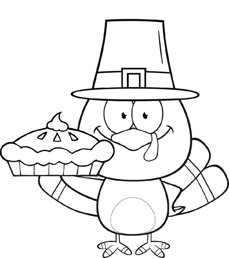 Thanksgiving Coloring Pages Turkey