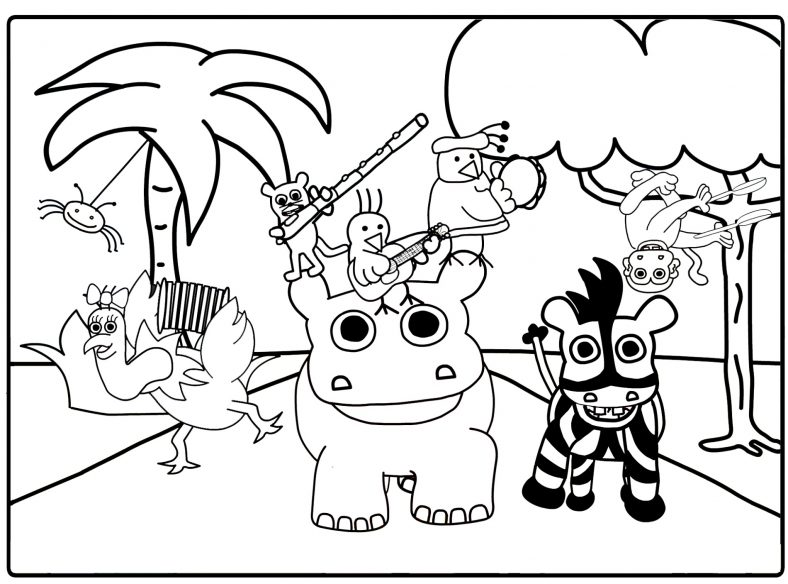Toddler Coloring Pages Animal