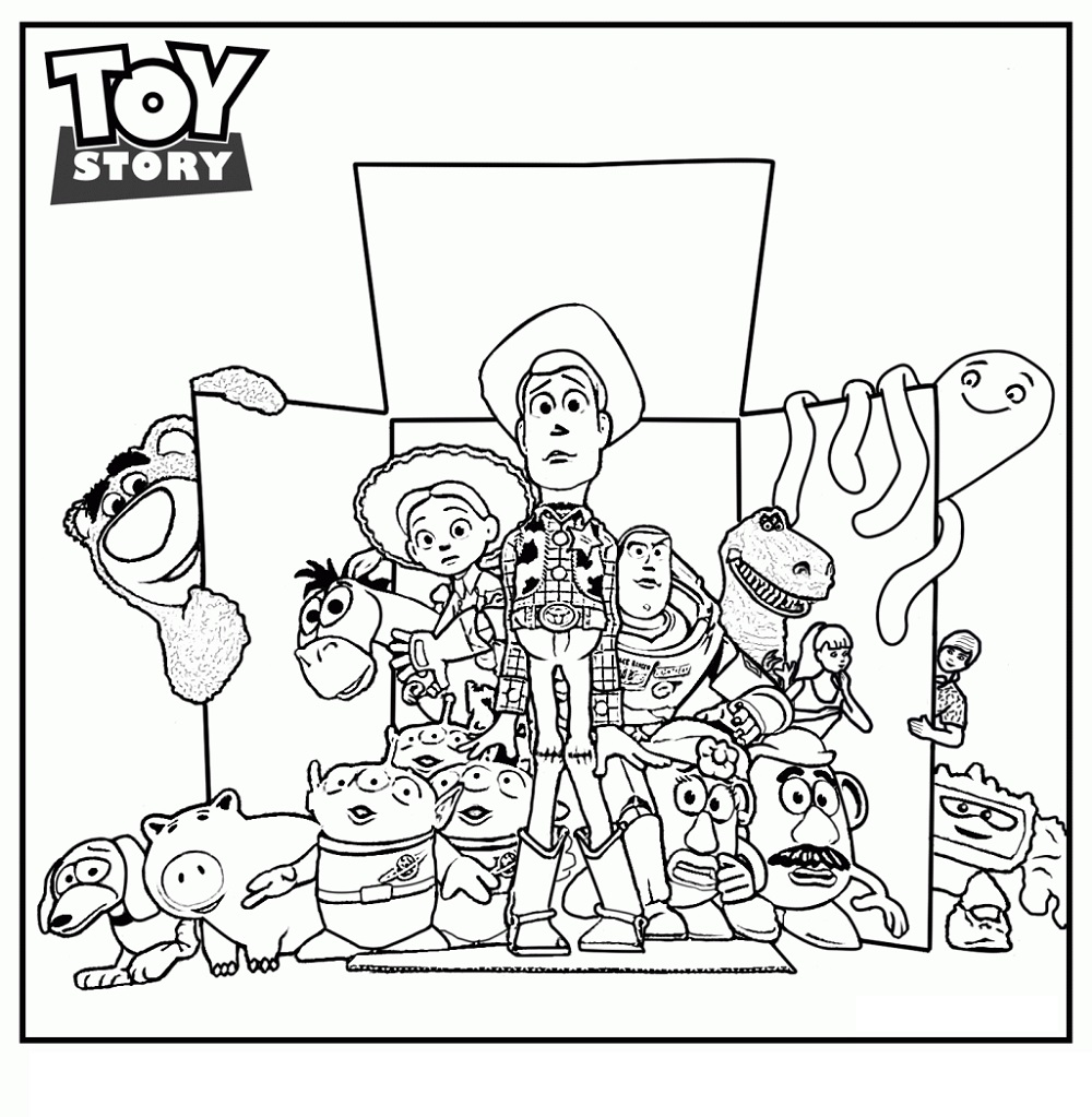 Toy Story Coloring Pages Movie
