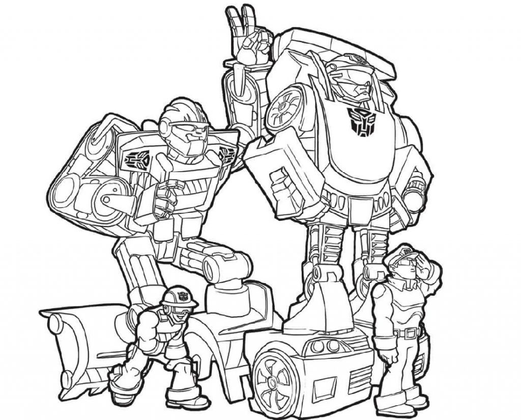 Transformers Coloring Pages Characters
