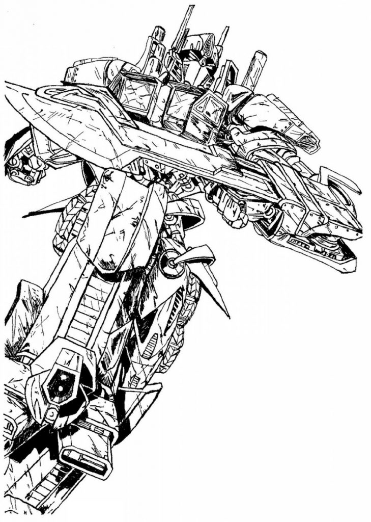Transformers Coloring Pages Movie