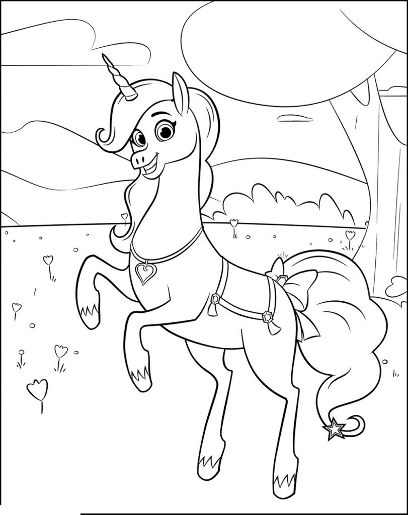 Unicorn Coloring For Girls