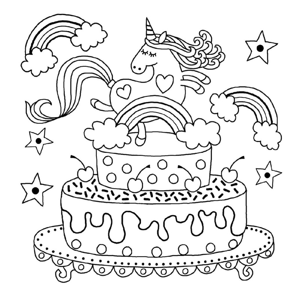 fairy unicorn coloring pages printable | 101 coloring