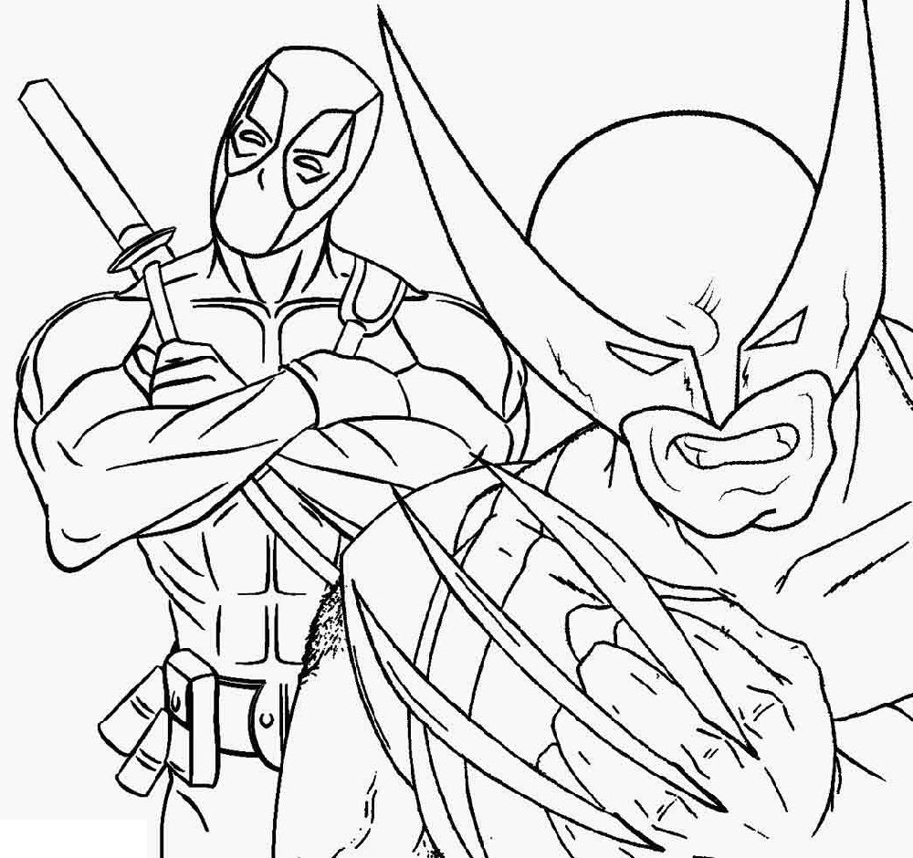 Wolverine Coloring Pages Superhero